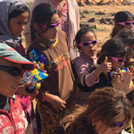Coloring the desert with toys for refugees