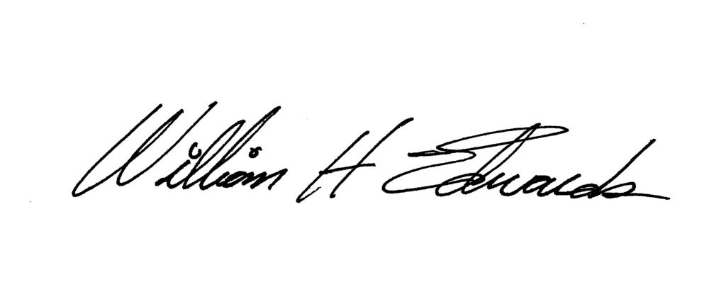 Signature, Edwards