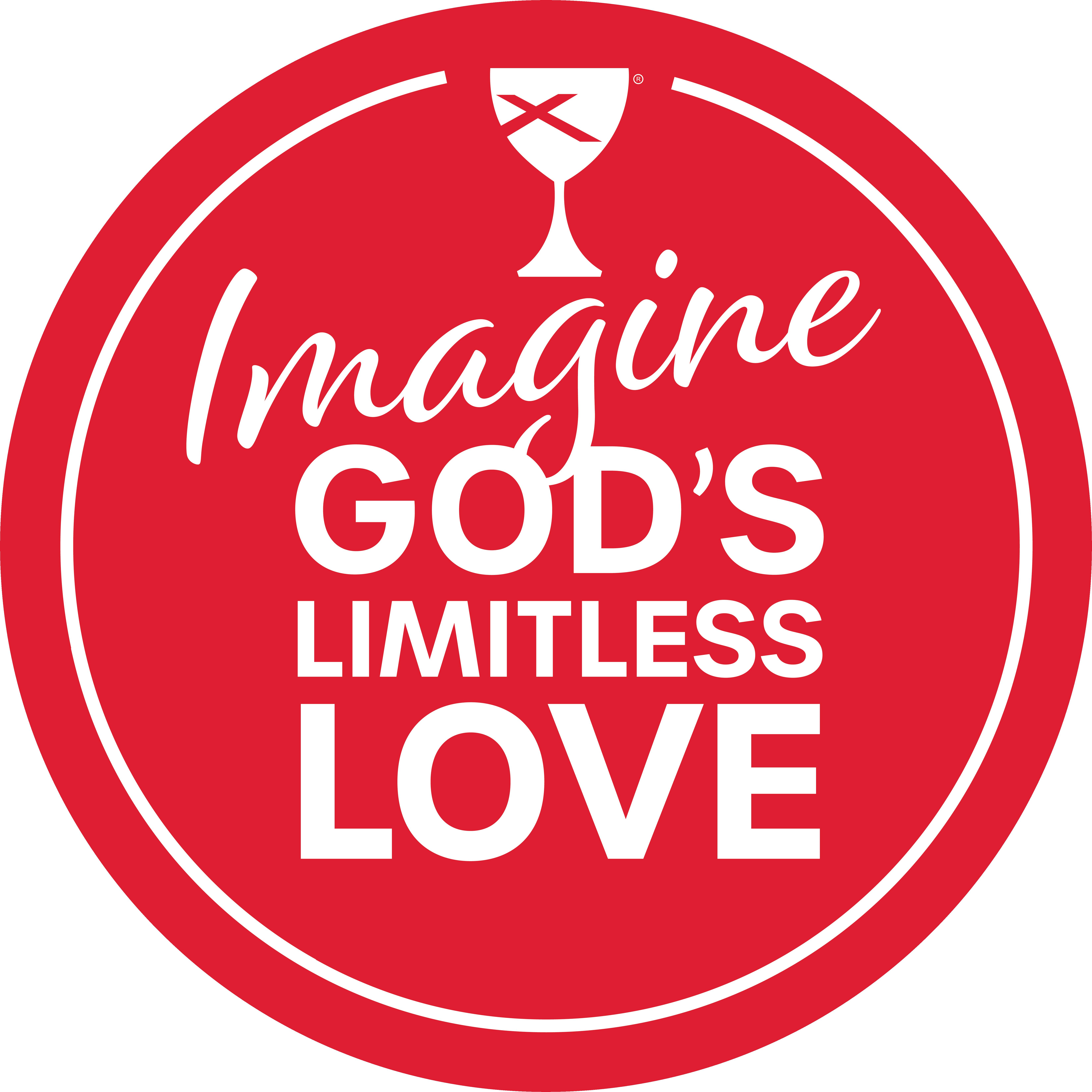 Imagine God's limitless love logo