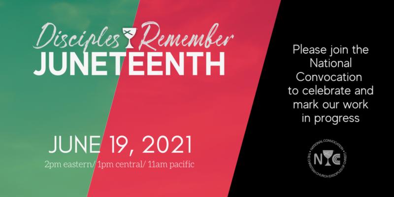 Juneteeth invitation graphic