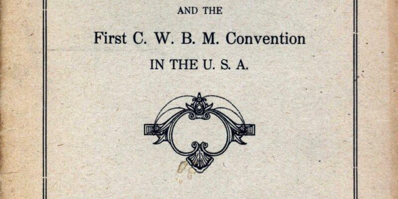 cover of 1918 NCMS program