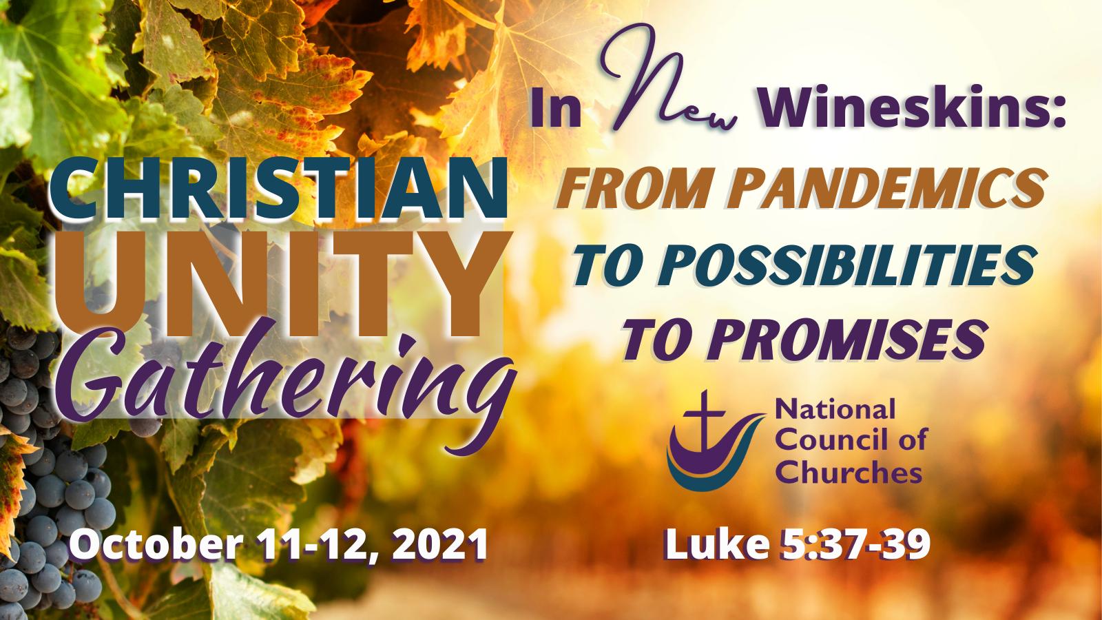 Christian Unity Gathering flyer
